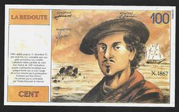 """Billet Publicitaire """" LA REDOUTE """" 100 Francs    31 12 1997 - Specimen"""
