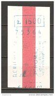 ITALIA - 1966 Biglietto Vaporetto VENEZIA ACNIL Piazzale Roma - Tranvías
