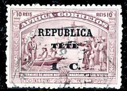 !■■■■■ds■■ Téte 1913 AF#03ø Vasco Da Gama On África 1 Centavo (x13080) - Tete