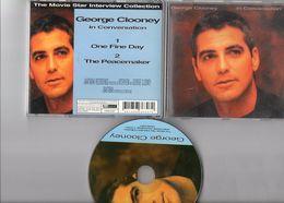 George Clooney   CD Original  In Conversation - Publicidad