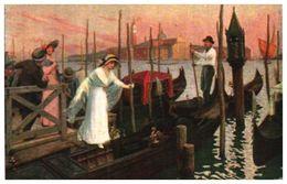 Lapina 1458 - L De Joncières, L'heure Mauve à Venise (8 Lignes) - Pittura & Quadri