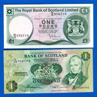 écosse  2  Billets - Schotland