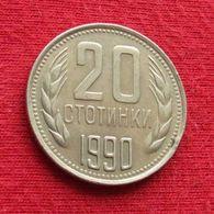 Bulgaria 20 Stotinki 1990 KM# 88  *V1 Bulgarie - Bulgarien