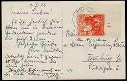 3. REICH 1938 Nr 679 BRIEF EF ECKE-URE X794FF6 - Germany