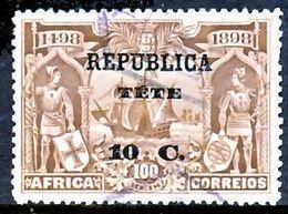 !■■■■■ds■■ Téte 1913 AF#07ø Vasco Da Gama On África 10 Centavos (x12294) - Tete