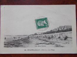 17 - CHATELAILLON - La Plage. (Les Cabines) - Châtelaillon-Plage