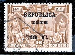!■■■■■ds■■ Téte 1913 AF#15ø Vasco Da Gama On Macao 10 Centavo (x10863) - Tete