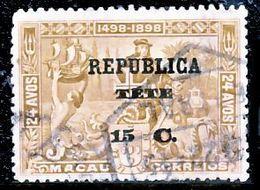 !■■■■■ds■■ Téte 1913 AF#16ø Vasco Da Gama On Macao 15 Centavos (x13085) - Tete