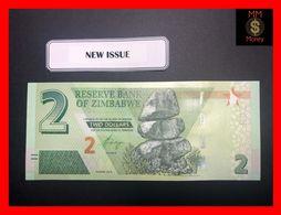 ZIMBABWE 2 $ 2019  P.  New   UNC - Simbabwe