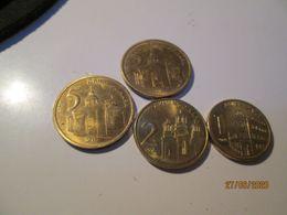 SERBIA 4 Coins 5 2 1 Dinar 2019 * 4 * - Serbia