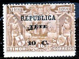 !■■■■■ds■■ Téte 1913 AF#23ø Vasco Da Gama On Timor 10 Centavos (x10867) - Tete