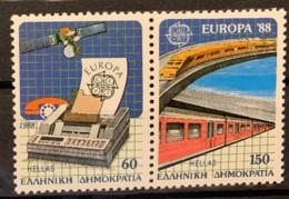 GREECE - MNH**   - 1988 - # 1621/1622 A - Greece