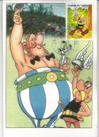 Obélix / Asterix . Carte-maximum FRANCE - Cómics