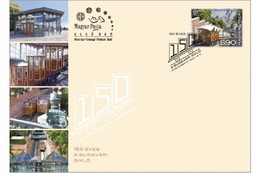 HUNGARY - 2020. FDC - 150th Anniversary Of The Buda Castle Cable Car / Funicular   MNH!!! - FDC