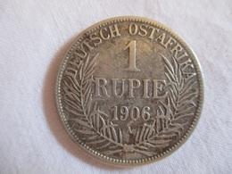 German East Africa: 1 Rupee 1906 - Afrique Orientale Allemande