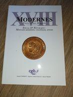 MONNAIE COIN LIVRE CATALOGUE CGB MODERNES 18 3e REPUBLIQUE COLONIALES JETONS - Livres & Logiciels