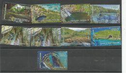 1315      9 Timbres Différents  De La Série Grottes  (boitsorbla) - Nouvelle-Calédonie