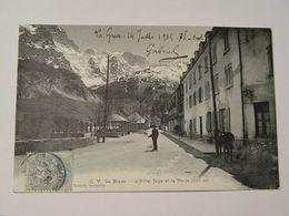 HAUTES ALPES-LA GRAVE-OV L'HOTEL JUGE ET LA MEIJE ROBERT GRENOBLE - France