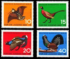 1965Berlin250-253Birds - Colibris