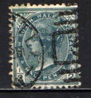 NEW SOUTH WALES - 1897 - EFFIGIE DELLA REGINA VITTORIA - USATO - Gebruikt