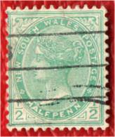 NEW SOUTH WALES - 1905 - EFFIGIE DELLA REGINA VITTORIA - USATO - Gebruikt
