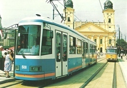 TRAM * TRAMWAY * RAIL RAILWAY RAILROAD * GANZ HUNSLET ANSALDO * FVV CSM BENGALI * DKV DEBRECEN * Top Card 0252 * Hungary - Tramways