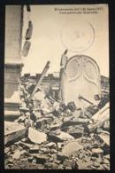 Postcard Circulated Earthquarke El Salvador 1917, From San Salvador To Santa Ana - Salvador
