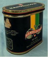 Alte Blechdose Handelsgold No 404 Extra Leicht - Ca. 13,5 X 13 X 7,5 Cm - Defekt   -  (pl) - Around Cigars