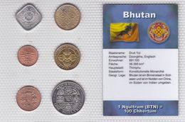 Kursmünzensatz Bhutan KMS Mit Zertifikat - Butan
