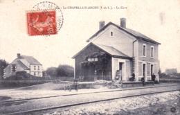 37 - Indre Et Loire - LA CHAPELLE BLANCHE - La Gare - Francia