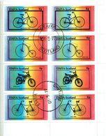 SCOTLAND Staffa Bikes Sheetlet Used - Local Issues