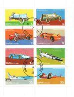 SCOTLAND Staffa Fast Cars Sheetlet Used - Local Issues