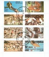 SCOTLAND Staffa XXI Olympics Sheetlet Used - Local Issues