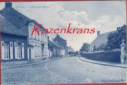 Gierle Lille Kempen Bloemen Straat Bloemenstraat Geanimeerd (in Goede Staat) 1912 - Lille