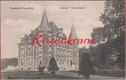 Hoogboom Kapellen Kasteel Oude Gracht Hoelen Cappellen 1914 (In Zeer Goede Staat) - Kapellen