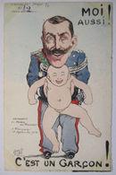 Italien, König Victor Emanuel, Politik, Satire Sign Orens (Auflage 75)  - Guerre 1914-18