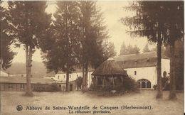 Abbaye De Sainte-Wandrille De Conques (Herbeumont) - Le Réfectoire Provisoire 1947 - Herbeumont