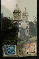 Postcard  San Salvador Church 1930, From San Salvador To Belgium - Salvador