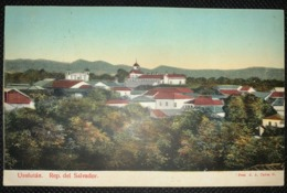 Postcard Usulutan 1915 - Salvador