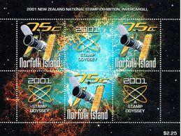 NORFOLK ISLAND 2000 Stamp Odyssey Sheetlet MUH - Norfolk Island