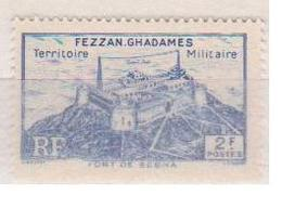 FEZZAN            N° YVERT  :    32    NEUF SANS GOMME        ( S G     1 / 48 ) - Fezzan (1943-1951)