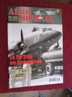 CAGI3 Superbe Revue AERO-JOURNAL N°20 De 2001 , Très Bon état , Valait 6,55€ . Sommaire En Photo 3 - Aviation