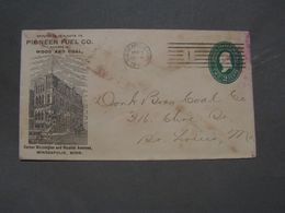 USA Cv, Mineapolis  Reklame 1894 - ...-1900