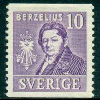 Sverige Sweden 1939 Chemistry Science Berzelius (Mi. 272A) LH - Other