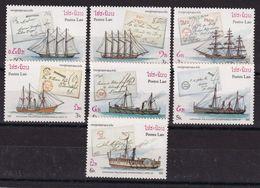 Laos 1987, Ships Complete Set MNH. Cv 6 Euro - Laos