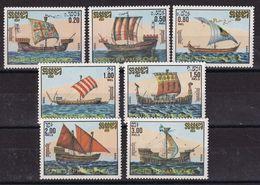 Cambodia 1986, Ships Complete Set MNH. Cv 6 Euro - Cambodia