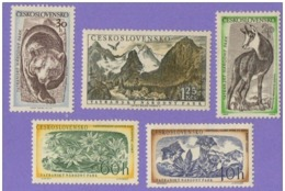 Czechoslovakia 1957. Tarta National Park Fauna   MNH** - Cecoslovacchia
