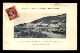 ALGERIE - PONT EN BETON ARME SUR L'OUED EL-OUTAR - PLAGE DES BENI-HAOUA - Otras Ciudades