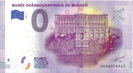 BS-04 - MONACO - Musée Océanographique De Monaco (façade) 2020-1 - EURO