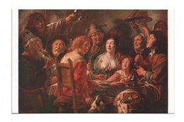 CPA - LE ROI BOIT (JORDAENS) - Malerei & Gemälde